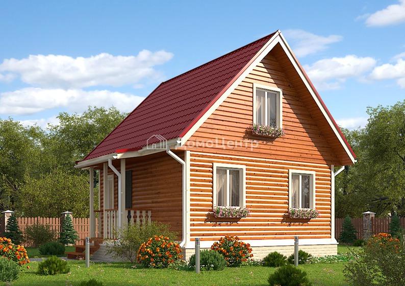Дом из бруса 6x6 «Архангельск»
